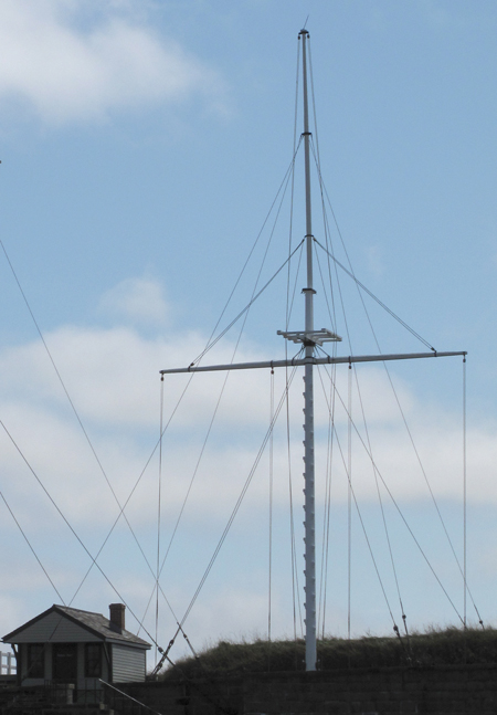 photo of Halifax military signal mast