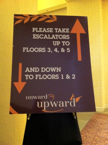 On what floor was this sign placed?