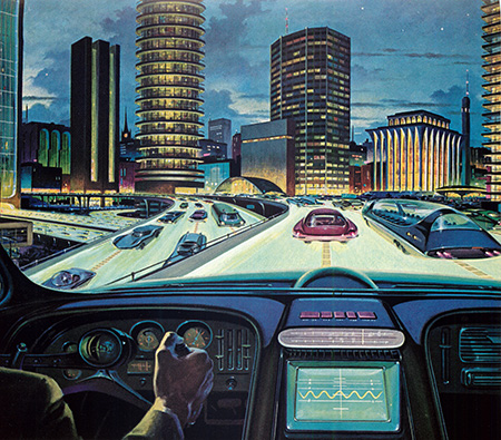 RCA electronic car of tomorrow ad