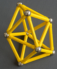 the eight-sphere new seed in a Geomag model