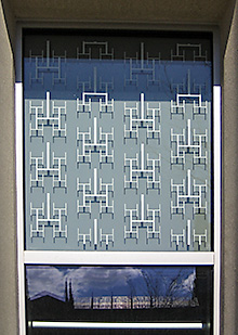 Duke window with binary tree pattern 0987