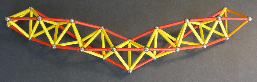 An ambidextrous tetrahelix 2992