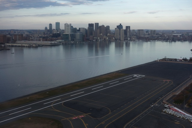 Boston from Logan Airport during climbout 2013 11 03