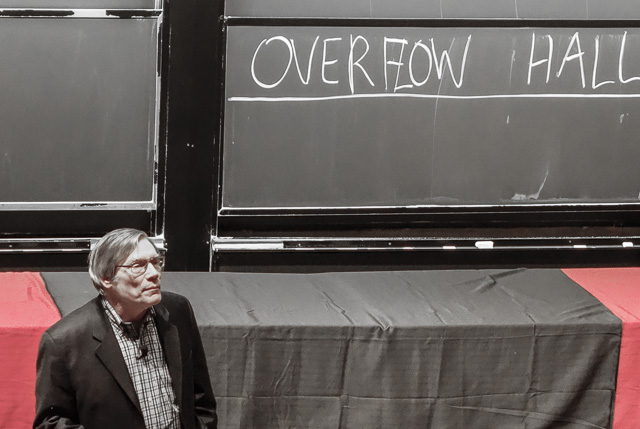 Alan Guth lectures at Harvard 2014-03-25