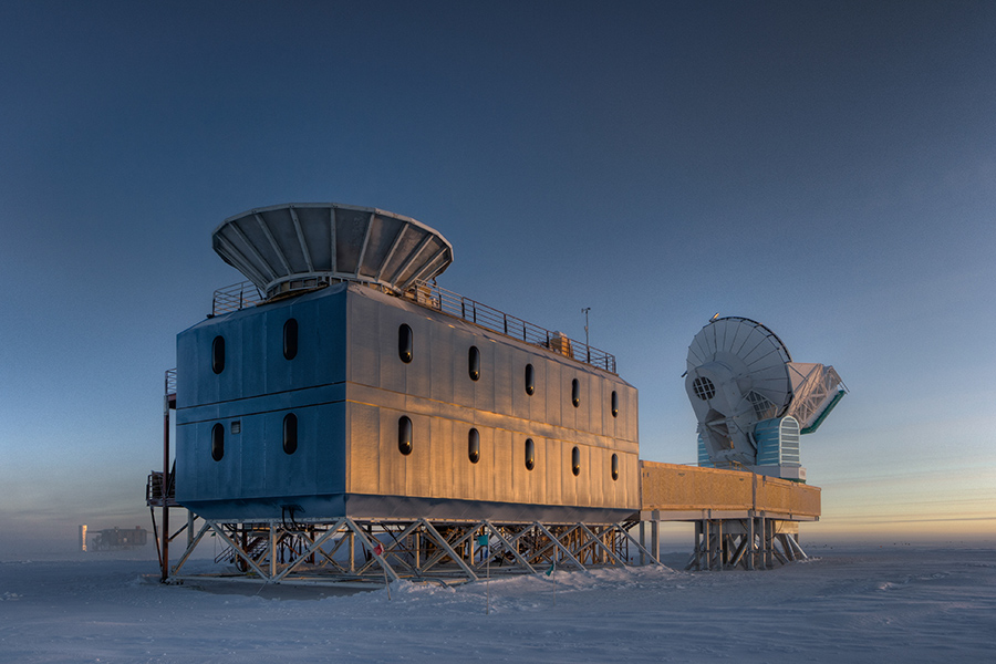 BICEP2 and South Pole Telescopes