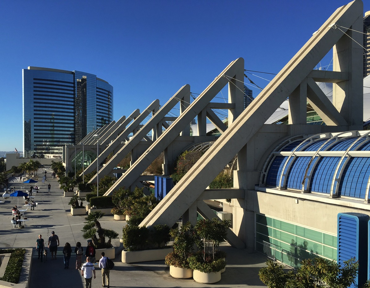 San Diego Convention Ctr during JMM 2018