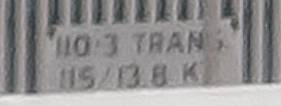 Transformer voltage plate