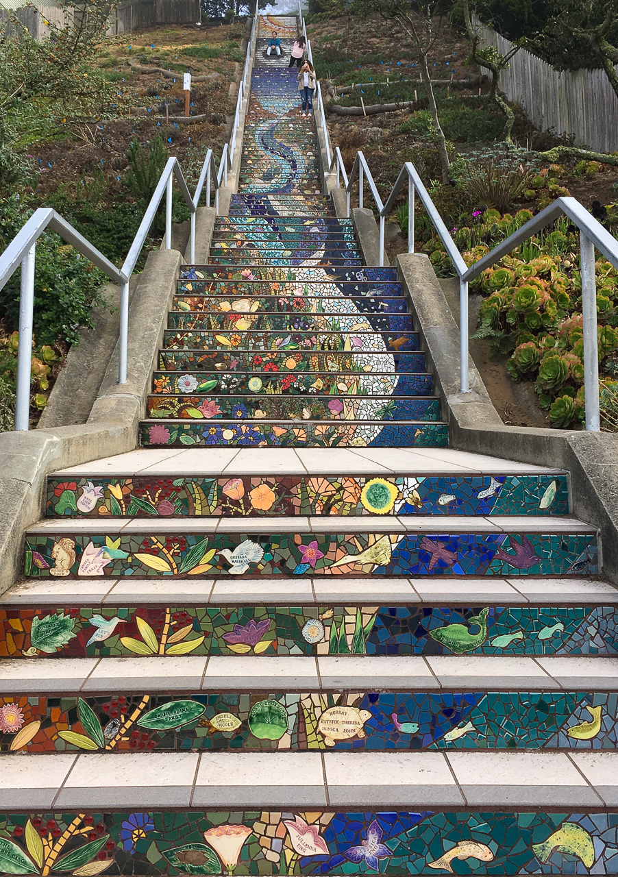 West stairs to Grandview Park 2017-10-28
