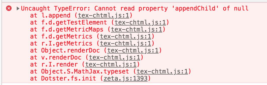 AppendChild null error 530x170
