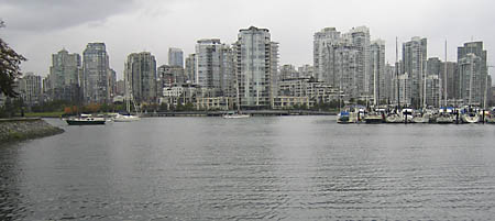 False Creek in Vancouver, from near Granville Island (which is not an island)